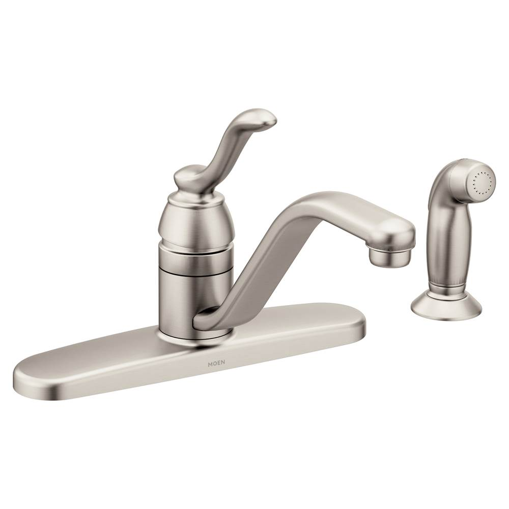 Moen Spot resist stainless one-handle kitchen faucet