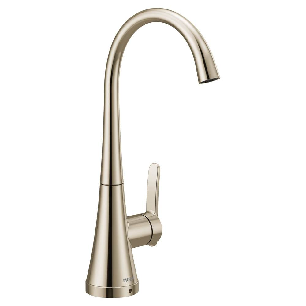 Moen Polished nickel one-handle single mount beverage faucet