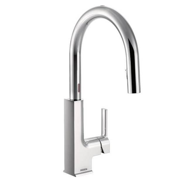 Moen One Touch Kitchen Faucet Kitchen Faucets Single Hole Mountainland Kitchen Bath Orem