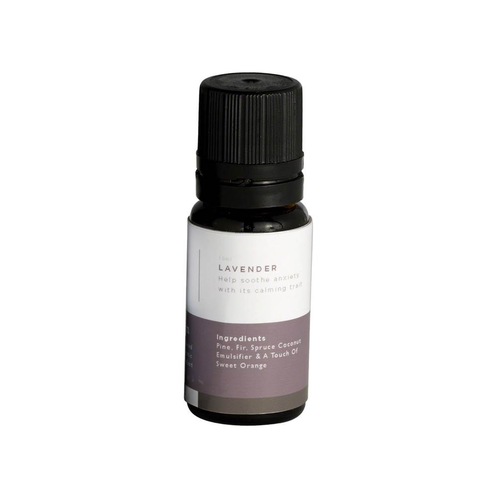 Mr. Steam Lavender Essential Oil 10ml bottle for use with Steam Head and Towel Warmer wells