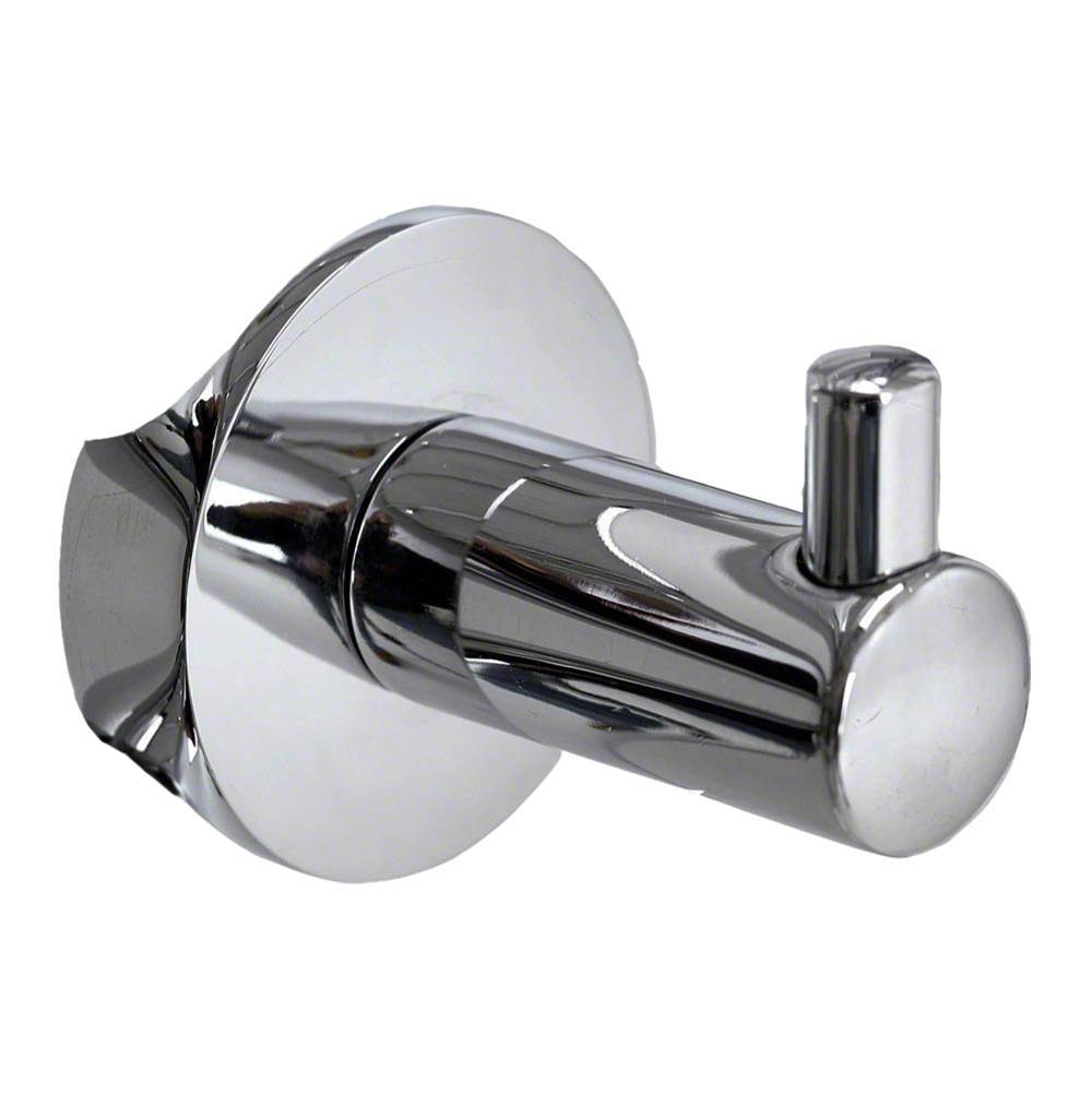 Mr. Steam Single Robe Hook in Polished Chrome