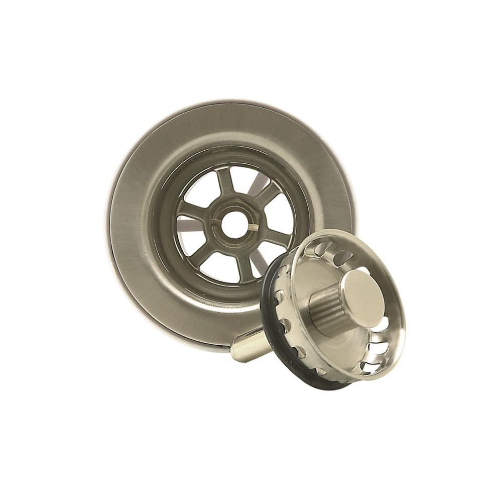 Mountain Plumbing Bar sink strainer w/ Spring loaded center pin