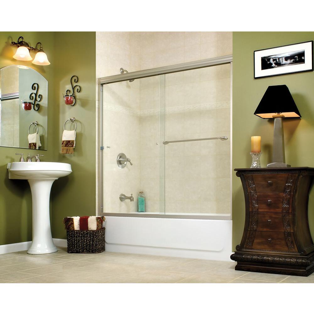 Shower door Shower Doors Nickel Tones | Mountainland Kitchen & Bath ...