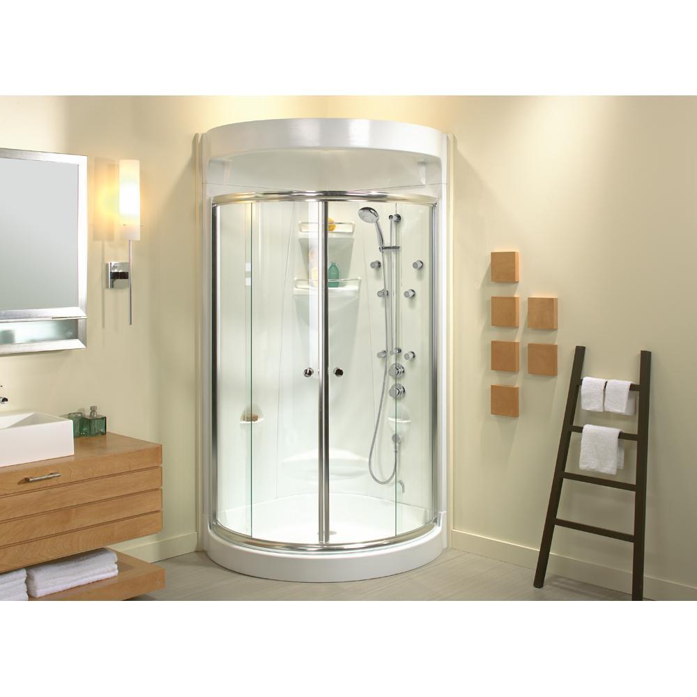 Bathroom Shower Enclosures Corner | Mountainland Kitchen & Bath ...