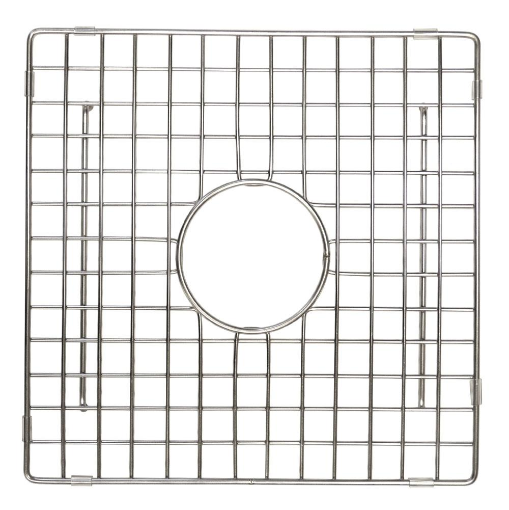 Native Trails 12'' Square Bottom Grid in Stainless Steel