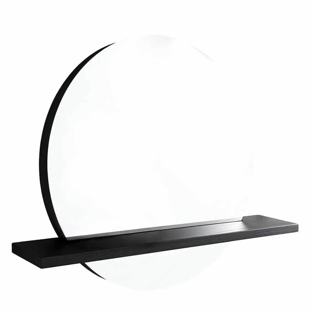 Native Trails Solace 22'' Shelf in Midnight Oak - Mirror sold separately