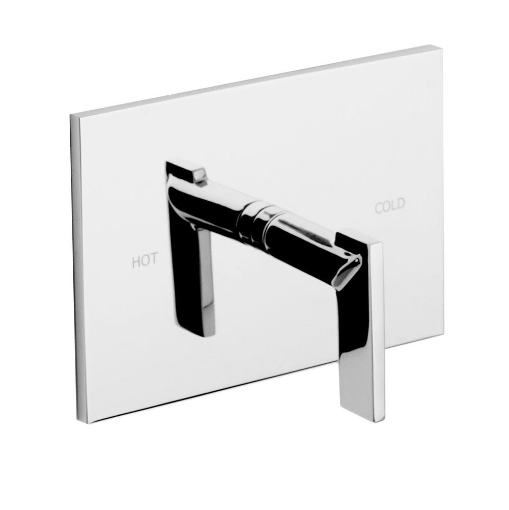 Newport Brass Balanced Pressure Shower Trim Plate with Handle. Less showerhead, arm and flange.