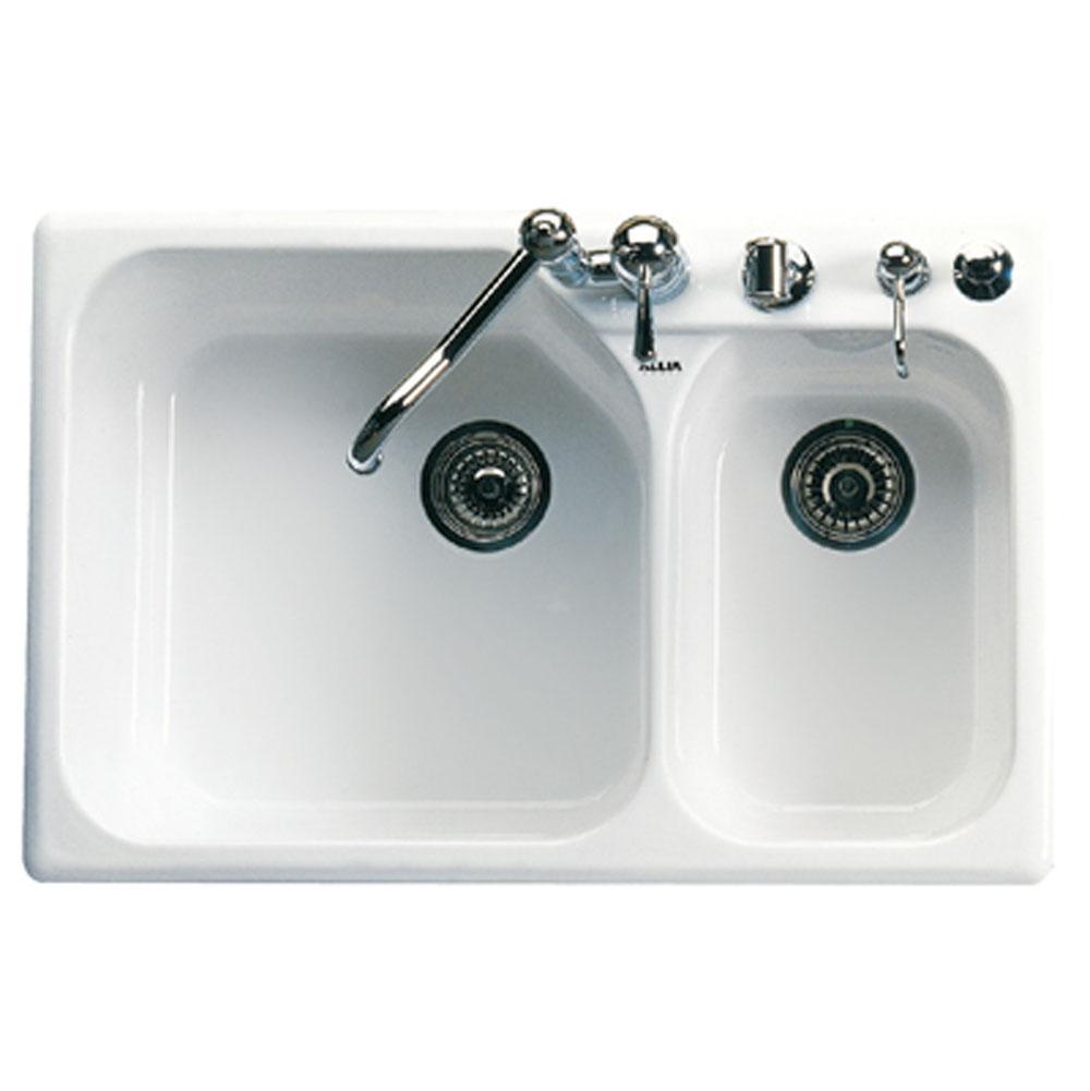 $1,292.85. 6327-63 · Rohl; Kit Allia 1 1/2 Bowl Kitchen Sink ...