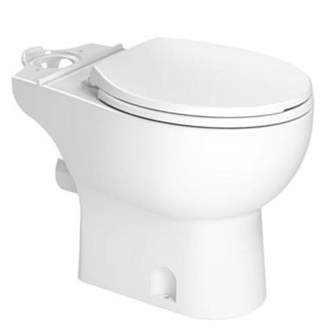 Saniflo Toilet Bowl Round White