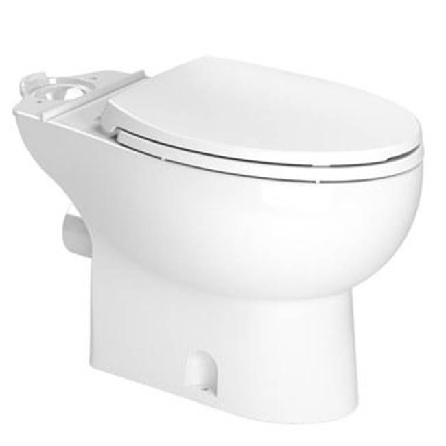 Saniflo Toilet Bowl Elongated White