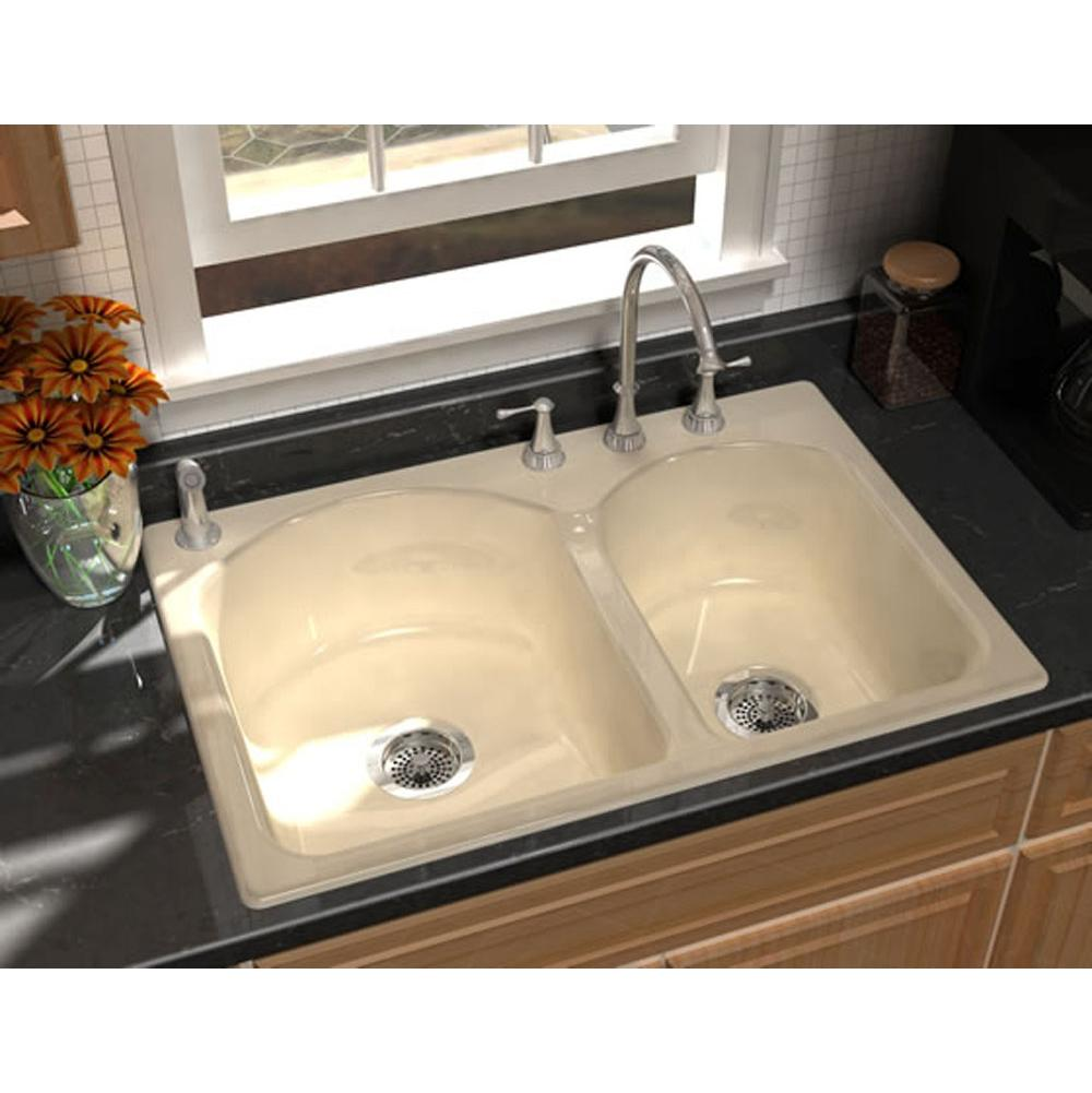 Song S 8240 4 61 At Mountainland Kitchen U0026 Bath Serving The Orem,  Richfield, And Roosevelt Utah Areas Drop In Kitchen Sinks In A Decorative  Biscuit Regular ...