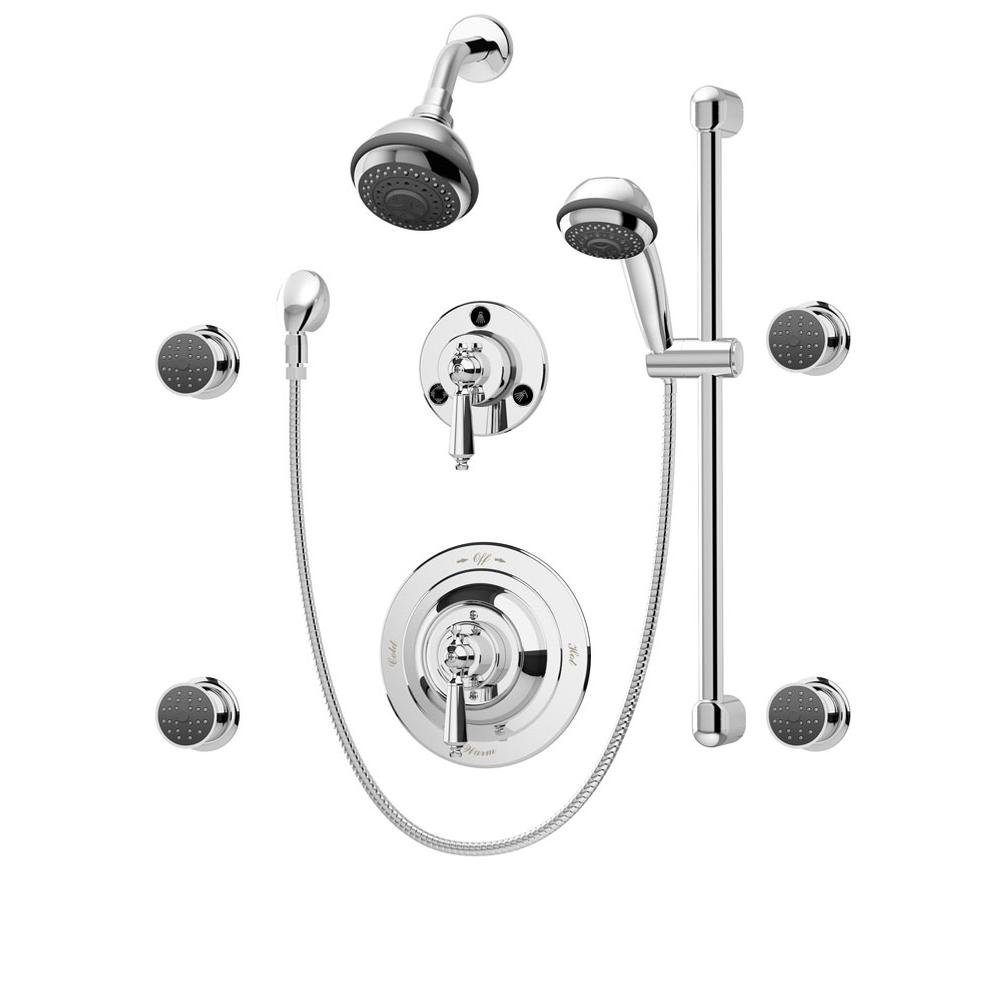 Symmons Showers Mountainland Kitchen Bath Orem Richfield Active Exposed And Shower Faucet 135030