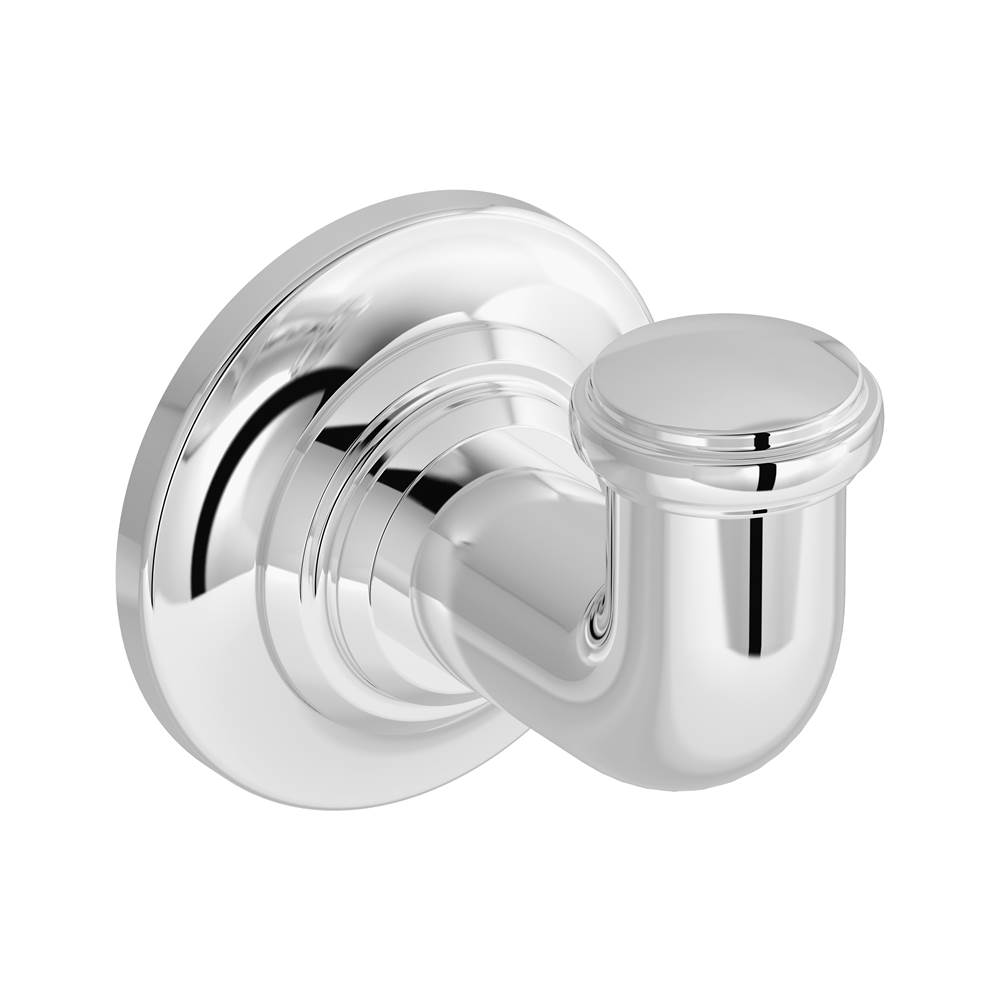 Symmons Winslet Wall-Mounted Robe Hook in Polished Chrome