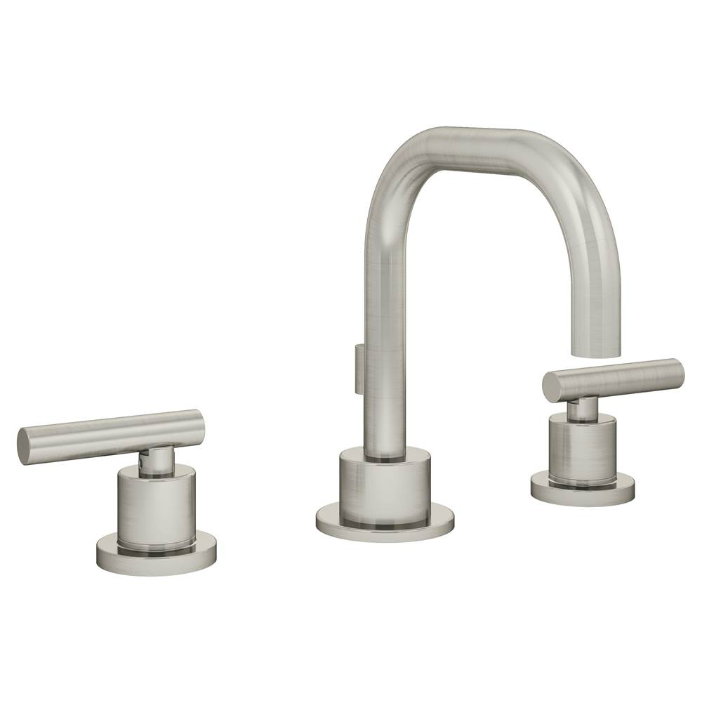 Symmons Dia Widespread 2-Handle Bathroom Faucet with Drain Assembly in Satin Nickel (1.0 GPM)