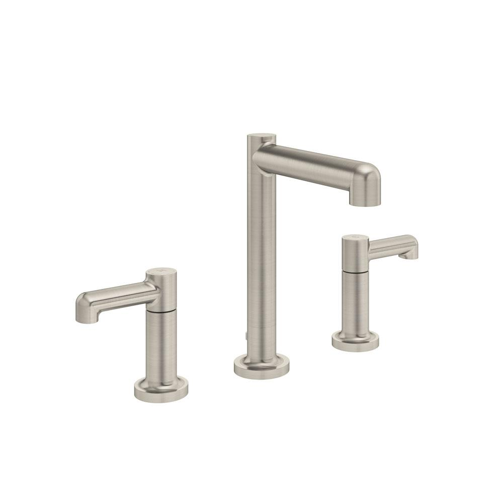 Symmons Museo Widespread 2-Handle Bathroom Faucet with Drain Assembly in Satin Nickel (1.5 GPM)