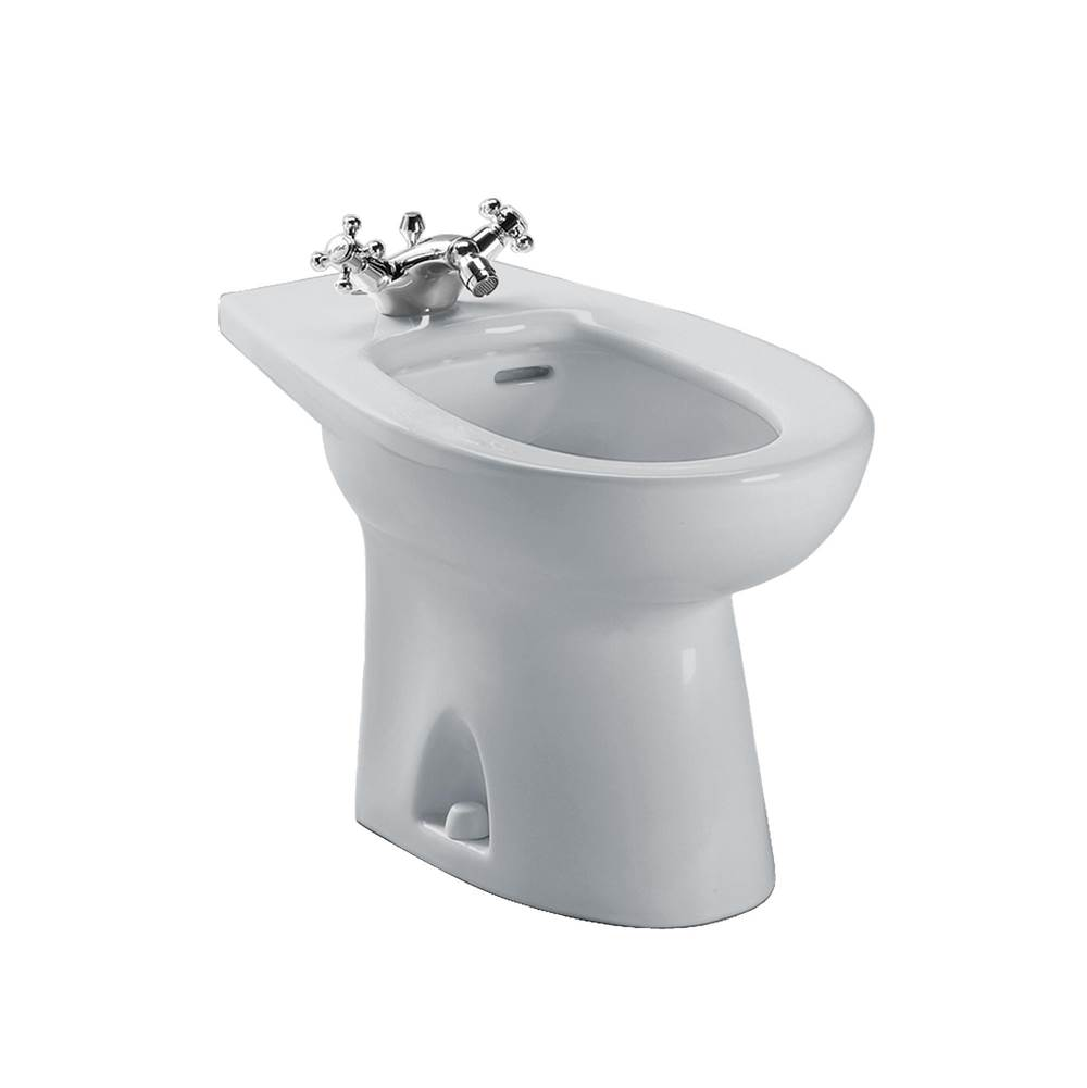 Toto Piedmont® Single Hole Deck Mounted Faucet Bidet, Colonial White