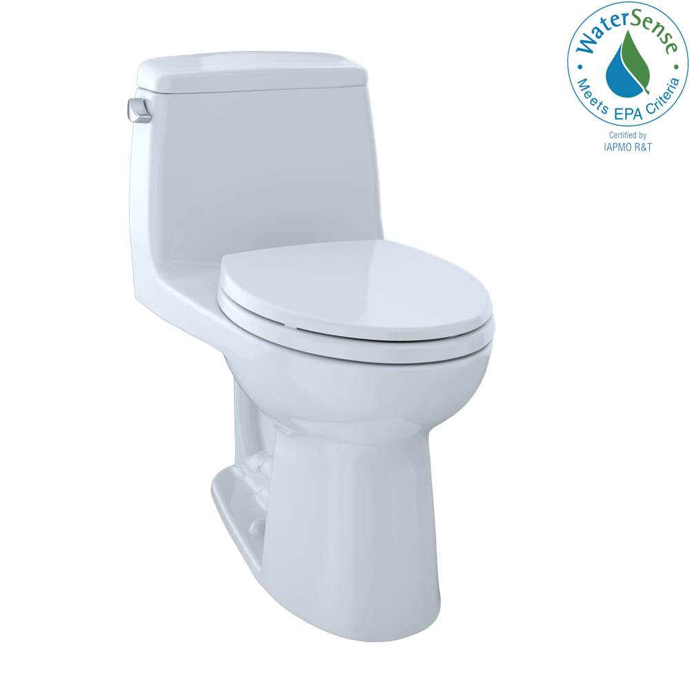 Toto Eco UltraMax® One-Piece Elongated 1.28 GPF Toilet with CEFIONTECT, Cotton White