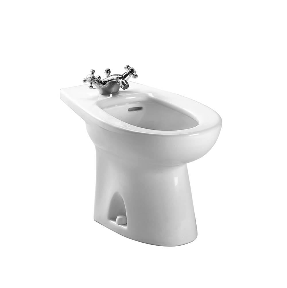 Toto Piedmont® Single Hole Deck Mounted Faucet Bidet, Cotton White