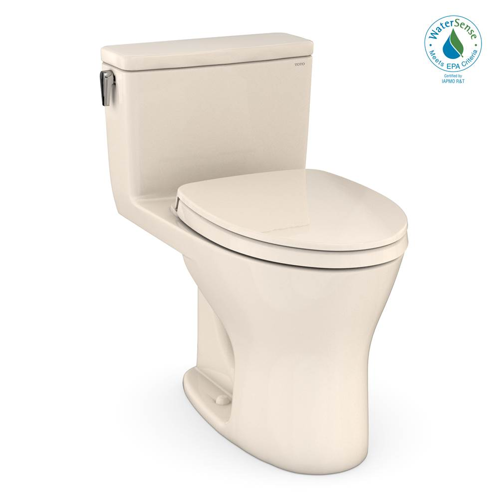 Toto UltraMax® 1G One-Piece EL Dual Flush 1.0,0.8 GPF DYNAMAX TORNADO FLUSH® Toilet with CEFIONTECT®,SoftClose Seat, WASHLET+ Ready, Sedona Beig