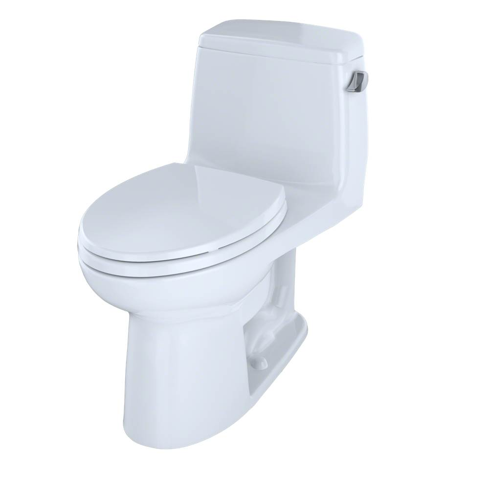 Toto UltraMax® One-Piece Elongated 1.6 GPF ADA Compliant Toilet with Right-Hand Trip Lever, Cotton White