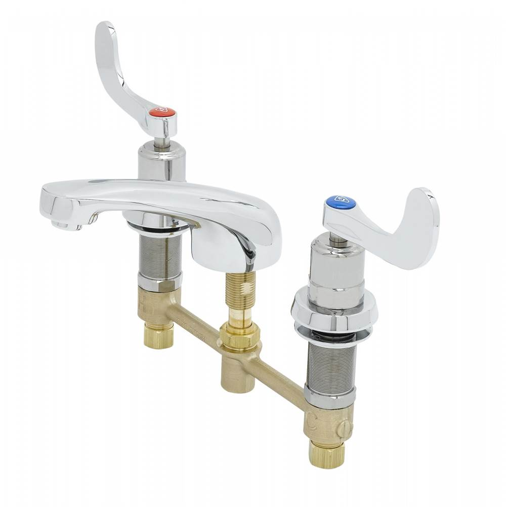 T And S Brass Bathroom Sink Faucets Widespread | Mountainland ...