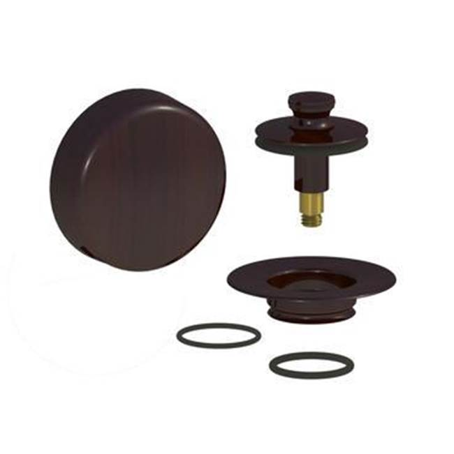 Watco Manufacturing QuickTrim Innovator PUSH PULL Trim Kit, Rubbed Bronze, Add Adapter Bar & Star Nut
