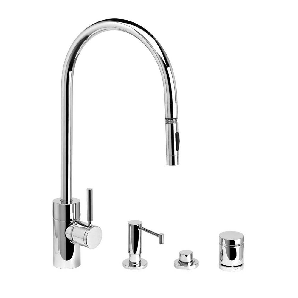 Waterstone Deck Mount Kitchen Faucets item 5300-4-AC