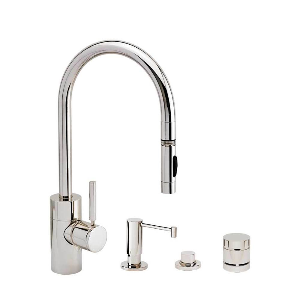 Waterstone Deck Mount Kitchen Faucets item 5400-4-DAC