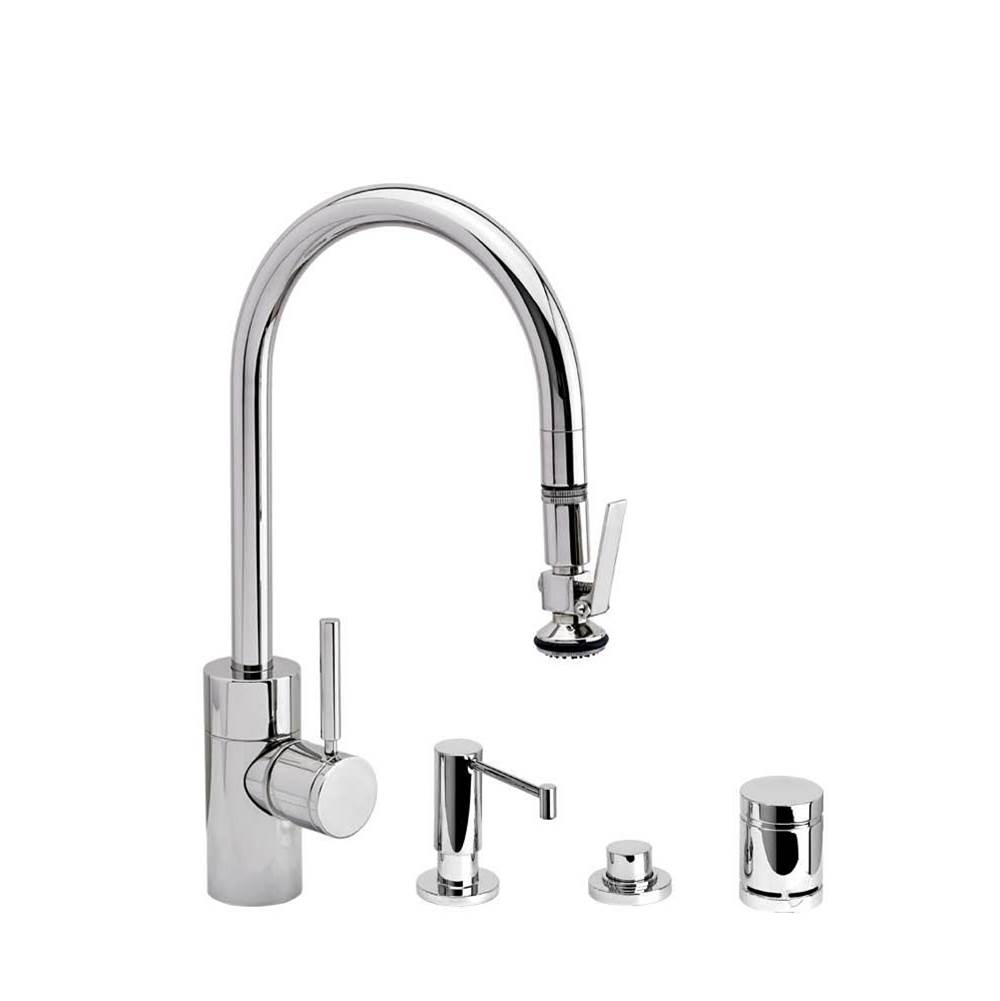 Waterstone Deck Mount Kitchen Faucets item 5800-4-WC
