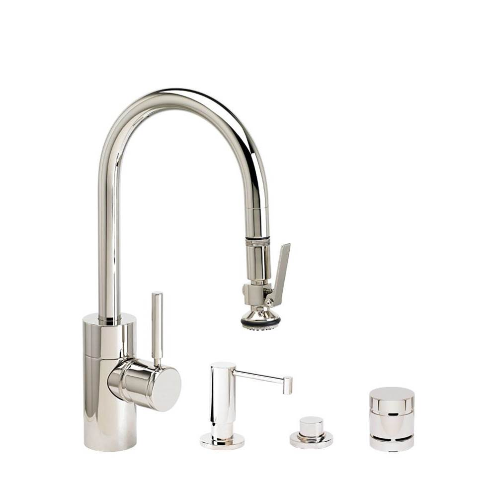 Waterstone Deck Mount Kitchen Faucets item 5930-4-AC